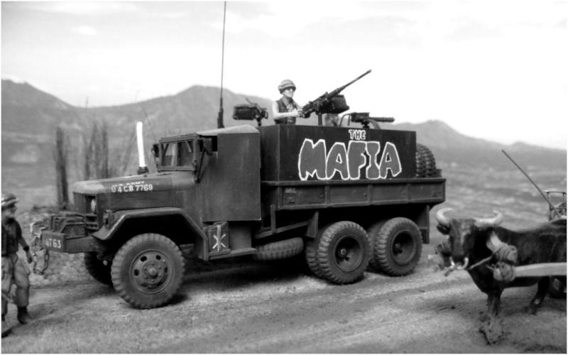 M35 Gun Truck , Academy+scratch 1/72 004b10