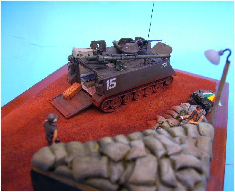 M113 ACAV ,Italeri+Trumpeter 1/72 00611