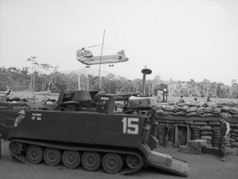 M113 ACAV ,Italeri+Trumpeter 1/72 00711