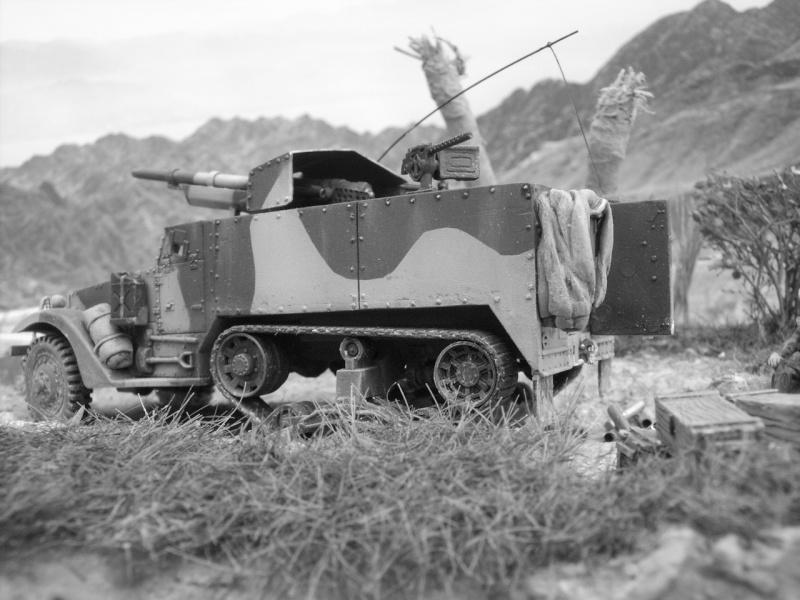 M3 75mm Pacifique Academy +scratch 1/72 M30710