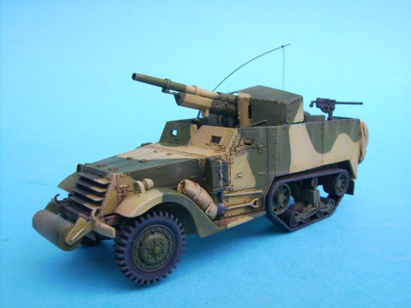 M3 75mm Pacifique Academy +scratch 1/72 M3e10