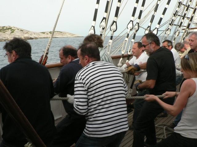 Photos du stage 14 entre Sète et Marseille 2008-012