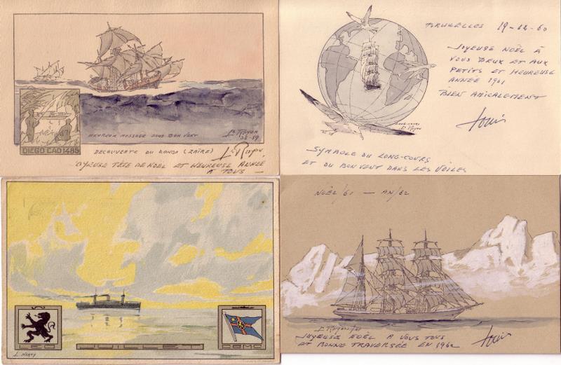 Cartes postales de bateaux - Page 3 Scan1017