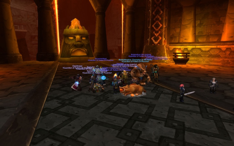 AoP Kills Magmaw, Alliance First Kill!  Wowscr11