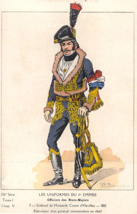 Colonel aide de camp, 1801 (Atelier Maket) Caron_11