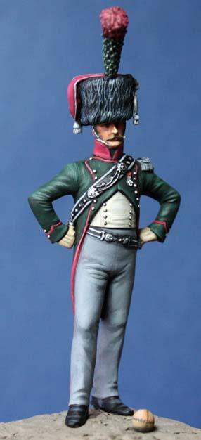 Officier du 12e chasseurs à cheval Off-1216