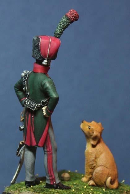 Officier du 12e chasseurs à cheval Off-1218