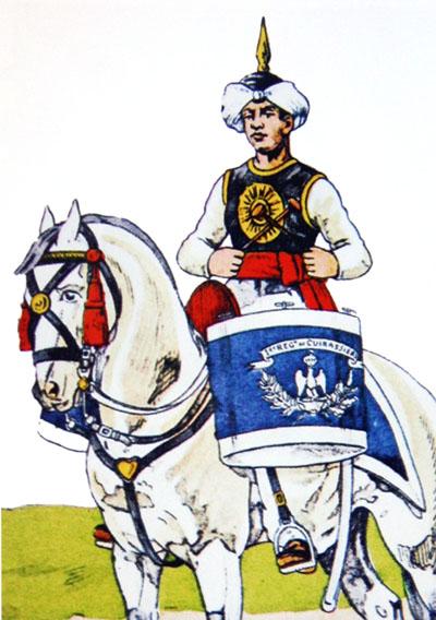 Un timbalier de cuirassiers sous l'Empire. Timb-c10