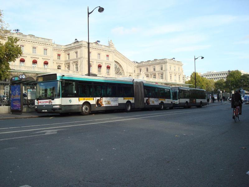 Différents Bus RATP  Bus310