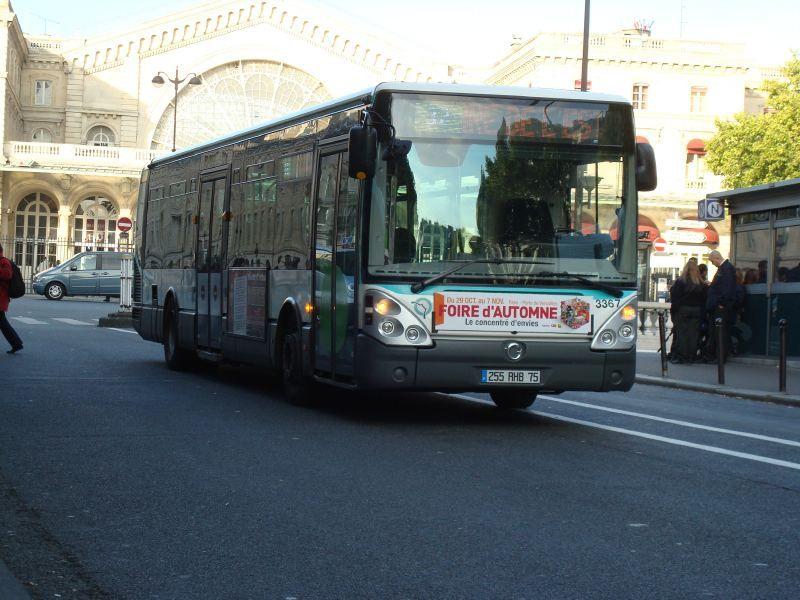 Différents Bus RATP  Bus410