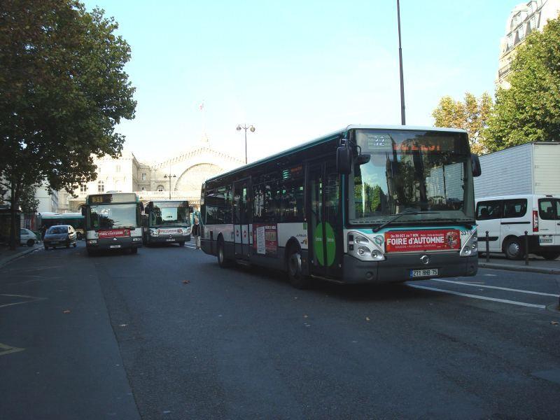 Différents Bus RATP  Bus_610