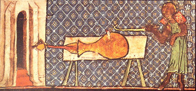 les premières bouches à feu : vase de milemete Bombar12