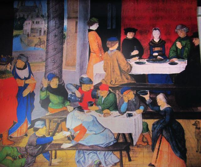 Représentations intérieures et extérieures de taverne tripots Bonnes10
