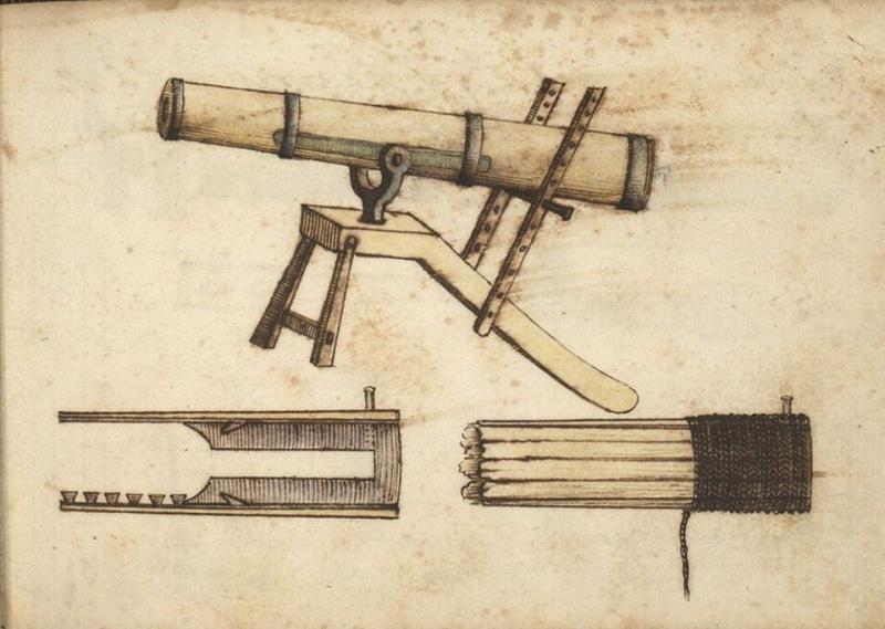 les canons en bois et en cuir Cano10
