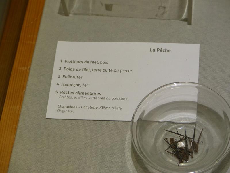 [artefact] engins de pêche du musée de Charavines (Paladru) isère Cartel13