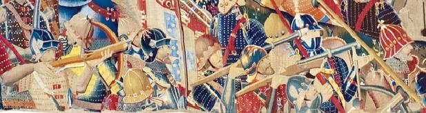 Les tapisseries tournaisiennes de Pastrana (15ème siècle) Detail11