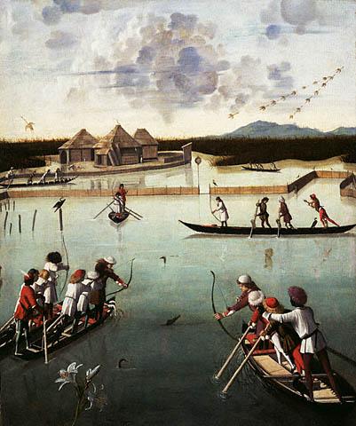 la pêche au canards à l'arc Peche_10