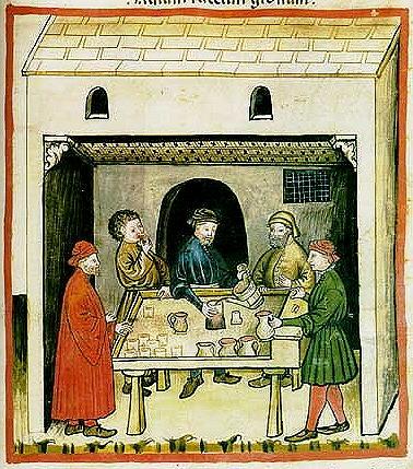 commerce du vin / marchand de vin ambulant ou crieur de vin en ville Tavern12