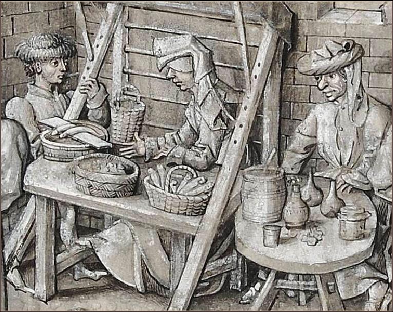 représentations de transport / stockage / vendeurs de poissons Vendeu10