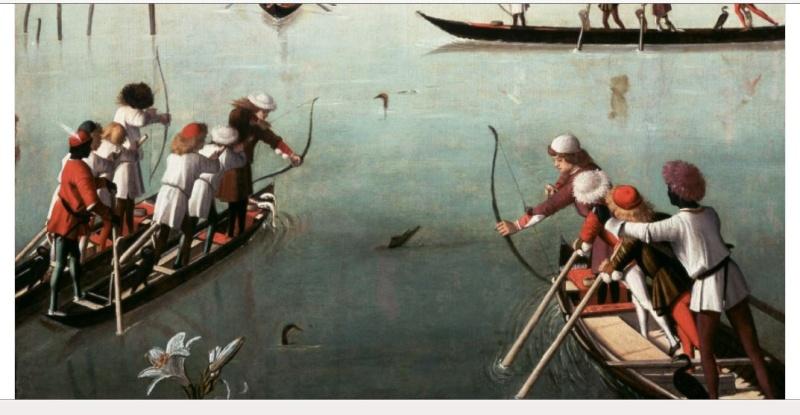 la pêche au canards à l'arc Volail10