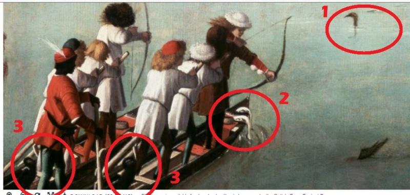 la pêche au canards à l'arc Volail11