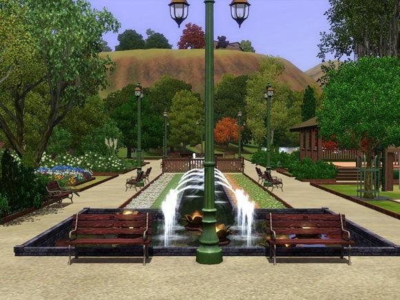 [Inspiration] [Sims 3] Les parcs Screen10