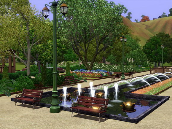 [Inspiration] [Sims 3] Les parcs Screen11