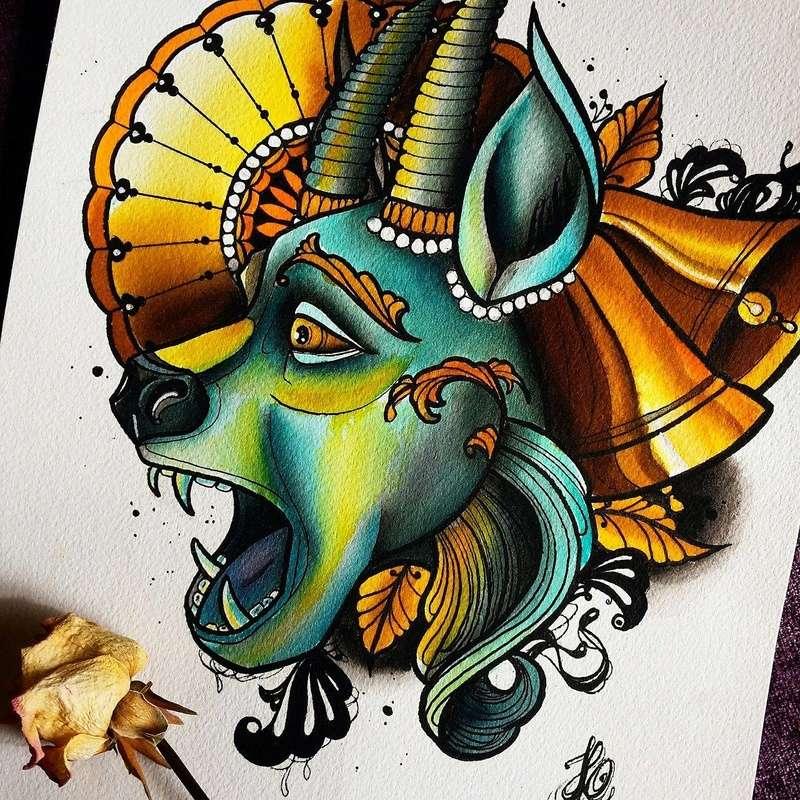 Travail  d'une future artiste tatoueuse . Beaucoup de sujets Disney .  14113910