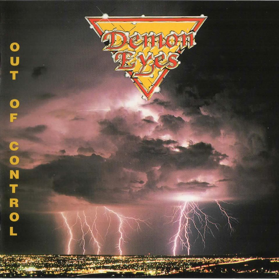 DEMON EYES Out Of Control (1987-2017) Edition No Remorse Records (Christophe Bailet) 13873010