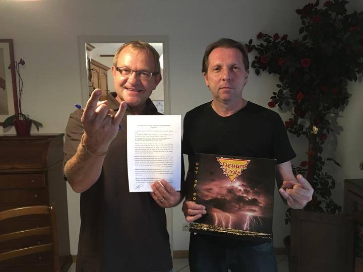 DEMON EYES Out Of Control (1987-2017) Edition No Remorse Records (Christophe Bailet) 13903210