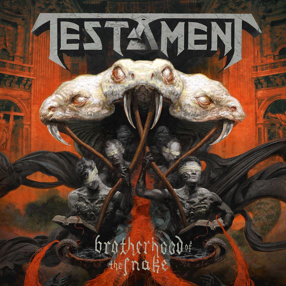 TESTAMENT Brotherhood Of The Snake (2016) Thrash USA 13921010