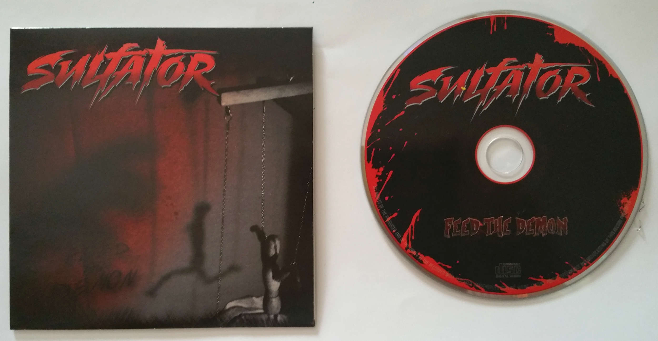 SULFATOR Feed the demon (2015) Heavy/Thrash Toulouse FRANCE 20160711