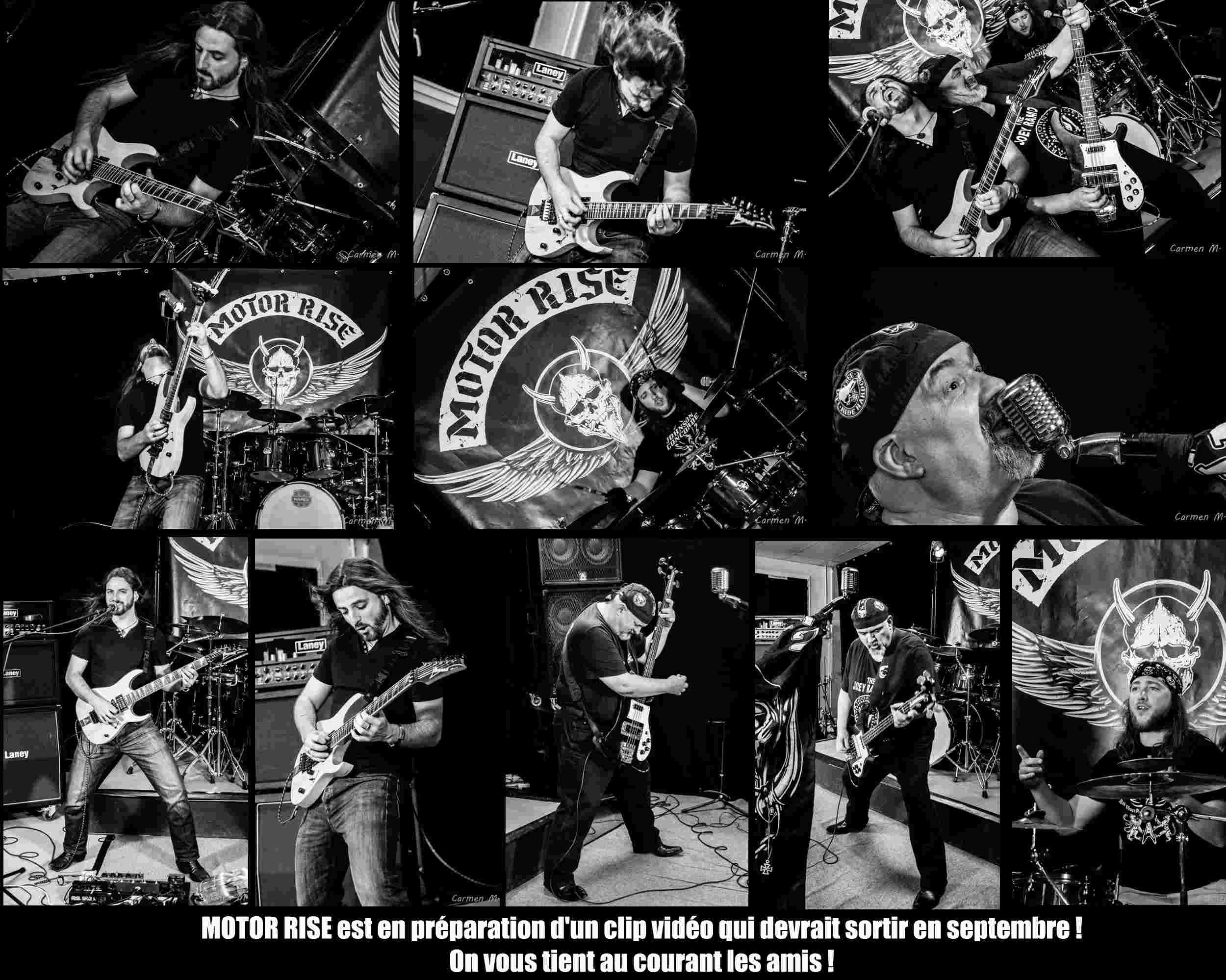 MOTOR RISE Faster Louder Faster (2015) EP Hard-Rock Sans_t10