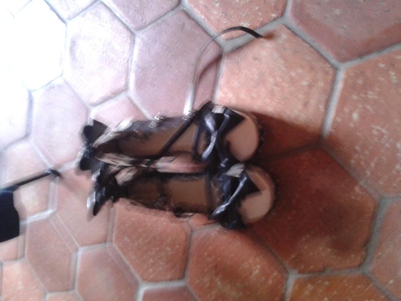 Vente Shoes lolita noire et blanches  20160510