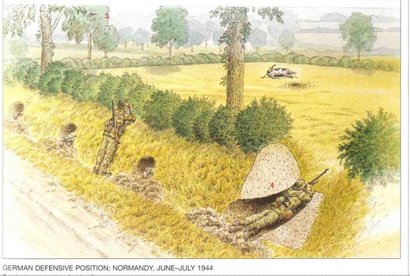 Bataille dans le Bocage Normand - techniques et tactiques Captur13