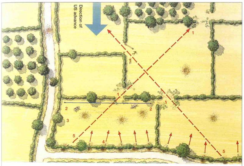 Bataille dans le Bocage Normand - techniques et tactiques Captur14