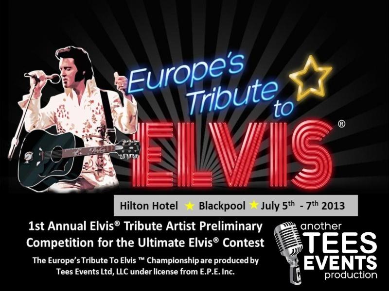 Ultimate Elvis Preliminary Heats Blackpool July 2013  Advert10