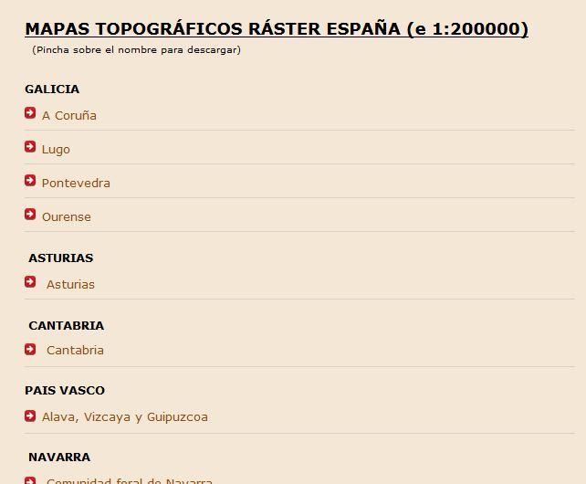 Carte de l'Espagne au 1:200.000 Captur25