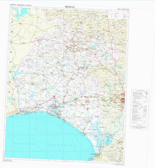 Carte de l'Espagne au 1:200.000 Captur26
