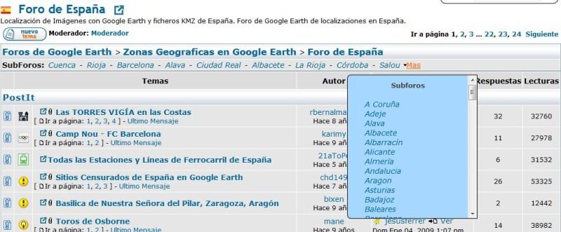 Google-Earth.es  : le TSGE espagnol Captur29