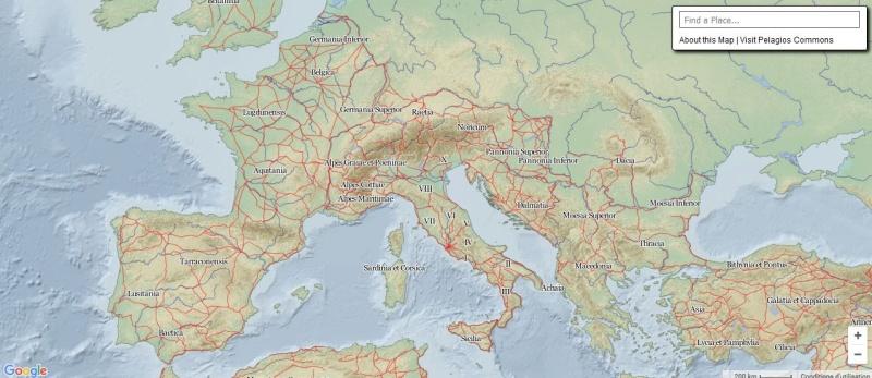 Pelagios & Imperium : Carte interactive du monde Greco Romain Captur35
