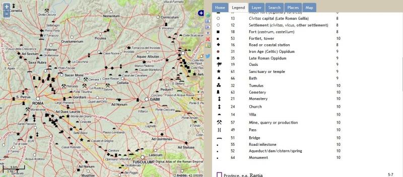 Pelagios & Imperium : Carte interactive du monde Greco Romain Captur38