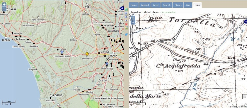 Pelagios & Imperium : Carte interactive du monde Greco Romain Captur40
