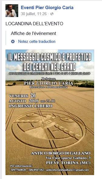 PIER GIORGIO CARIA.... GIORGIO BONGIOVANNI... ET LEURS AMIS....  LES ACROGLYPHES DANS LE MONDE  Confe10