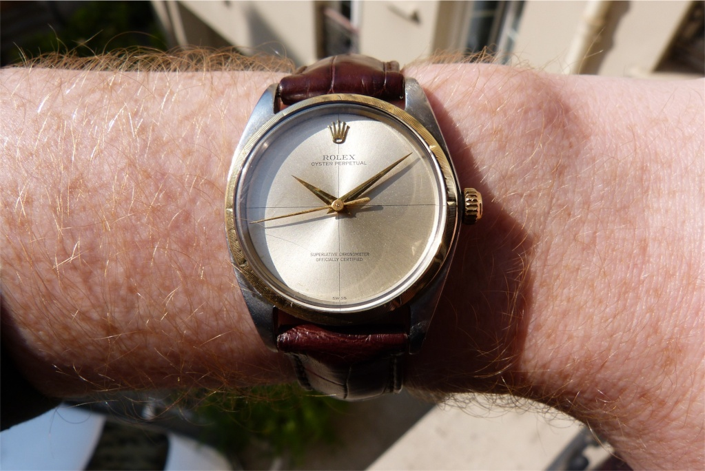 [VENDUE] Rolex Oyster Perpetual Zephyr 1008 de 1962 Scaled41