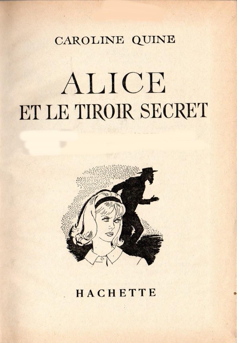 Recherches sur les anciennes éditions d'Alice (Titres 16 à 30)  30alic10