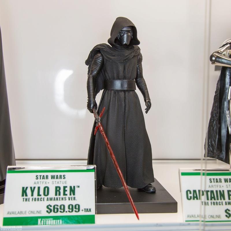Kotobukiya Star Wars - Kylo Ren ArtFX Statue  2016-s12