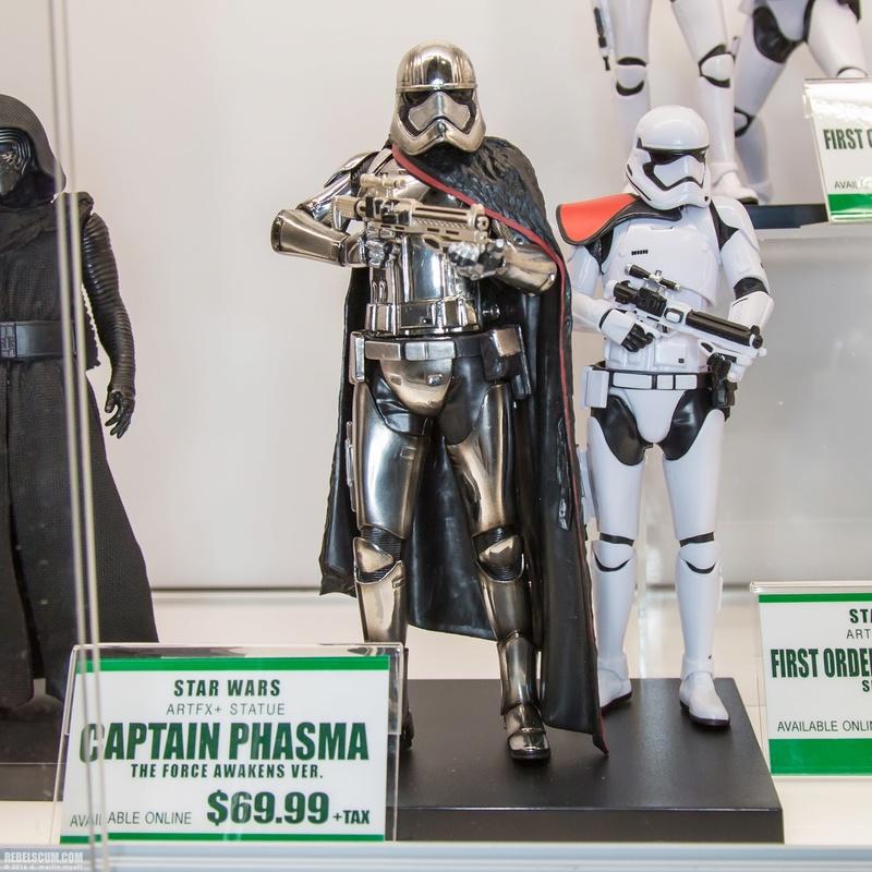 Kotobukiya Star Wars - Captain Phasma ARTFX+ Statue 2016-s15