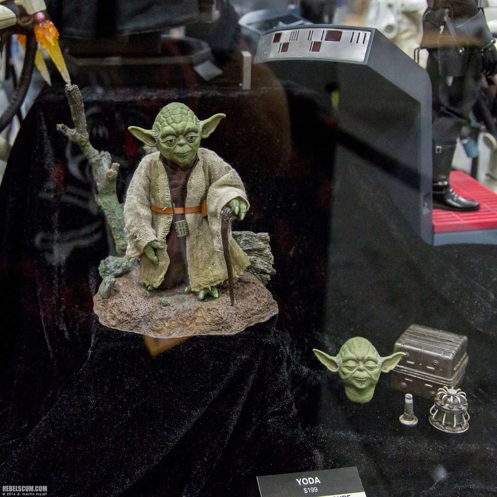 Hot Toys Star Wars V - 1/6th scale Yoda Collectible Figure 2016-s22