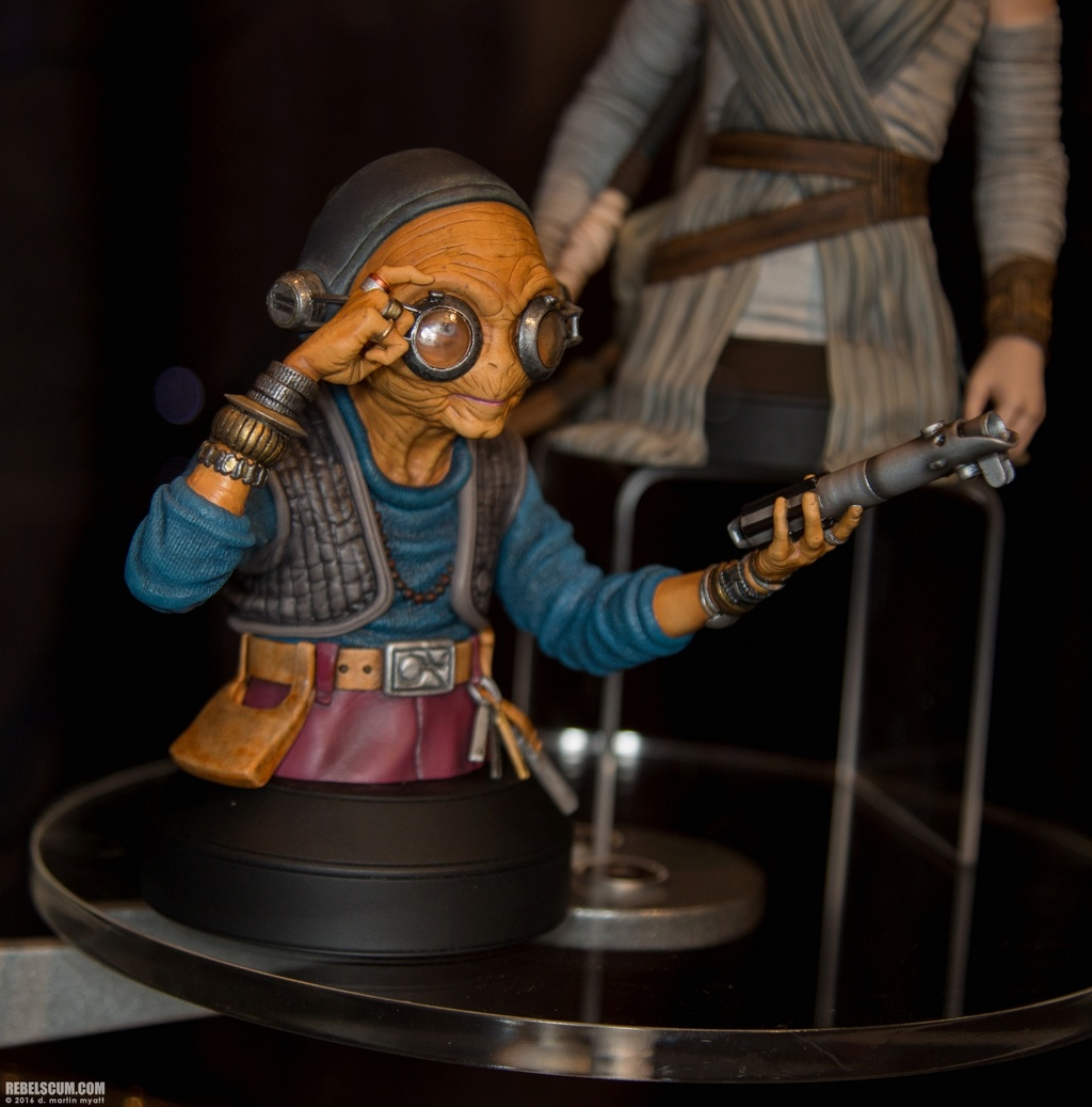 Gentle Giant - Maz Kanata Mini Bust PGM 2016-s32